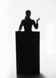 woman-podium